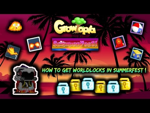 |Growtopia #12| - How To Get Rich Very Easy In SummerFest Growtopia (2016) :D