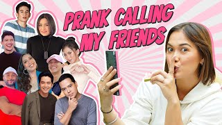PRANK CALLING MY FRIENDS (@Alex Gonzaga Official @Joshua Garcia @Enchong Dee & MORE) | Maja Salvador