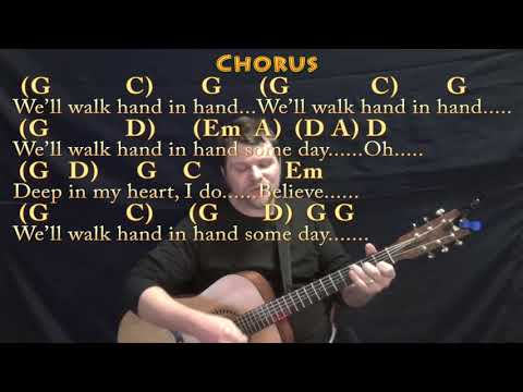 We Shall Overcome (HYMN) Strum Guitar Cover Lesson In G With Chords/Lyrics
