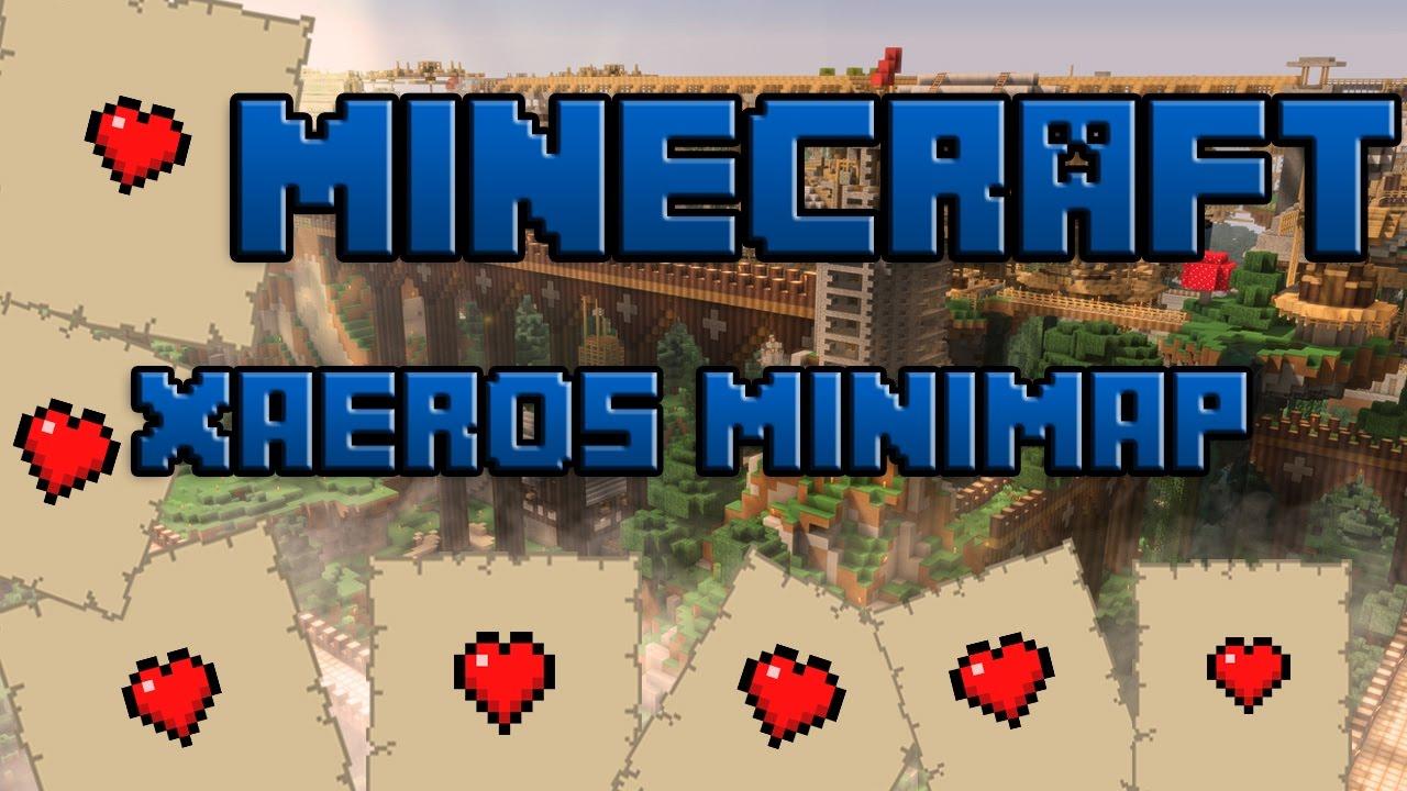 Minecraft Mod Xaero S Minimap 1 12 Installieren German Youtube