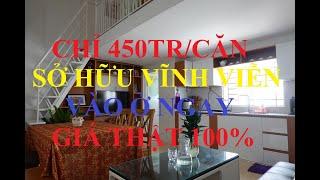Nhà ở Xã Hội - 450TR / Căn | Sở Hữu Vĩnh Viễn | gần Cầu Lớn - Hóc Môn | LH : 0869.162.416