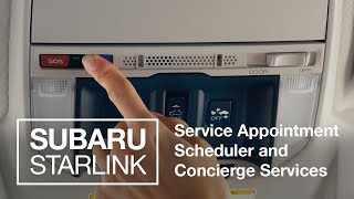 homepage tile video photo for Concierge + Appointment Tech | SUBARU STARLINK