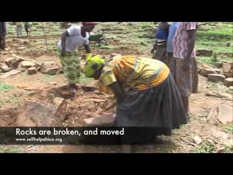 Stone bunds & land reclamation in Northern Togo