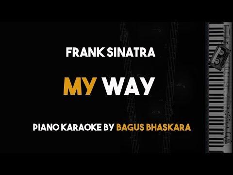 My Way - Frank Sinatra (Piano Karaoke Backing Track with Lyrics)