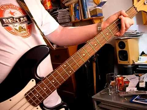the cult peace dog bass