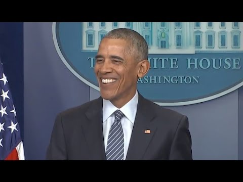 Thumbnail: Obama First Press Conference Since Trump Election | Full Presser
