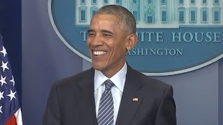 Obama First Press Conference Since Trump Election   Full Presser