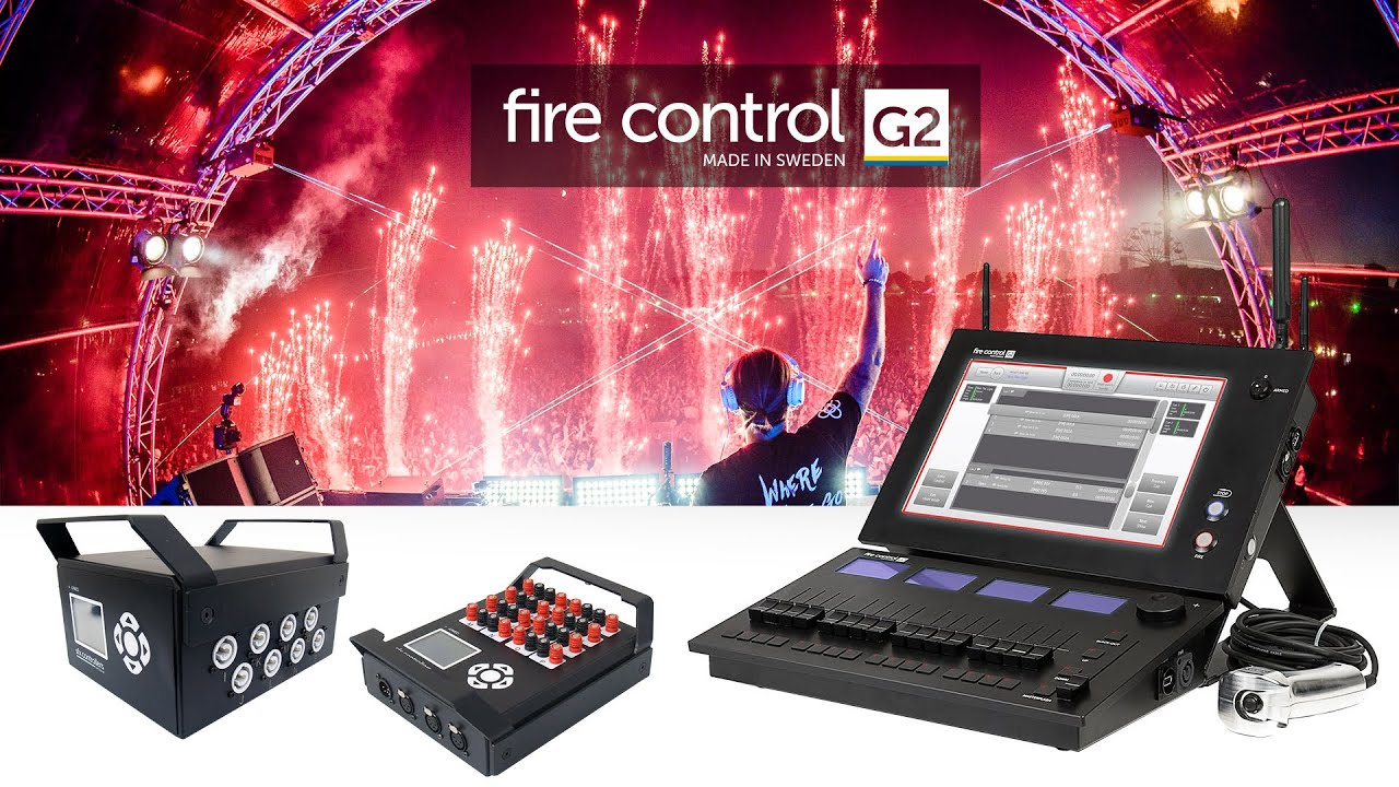 G2 Fire Control product overview - Pyrotechnics made easy