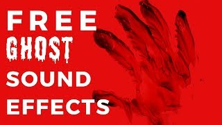 GHOST SOUND EFFECT -|- Free Haunted Spooky Sound Pack