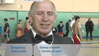 На открытом Чемпионате Владивостока по сумо разыграли 20 комплектов наград