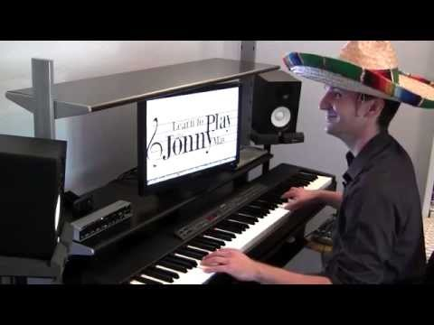 """Sugar Cubes"" - Latin Jazz Piano by Jonny May (with Bloopers!)"