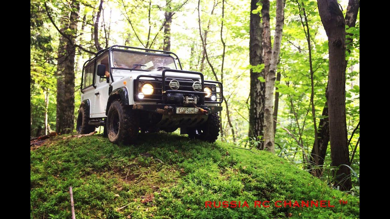 4x4 off road rc adventures land rover defender 90 hill climb
