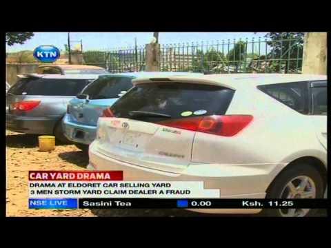 News: Car yard drama in eldoret