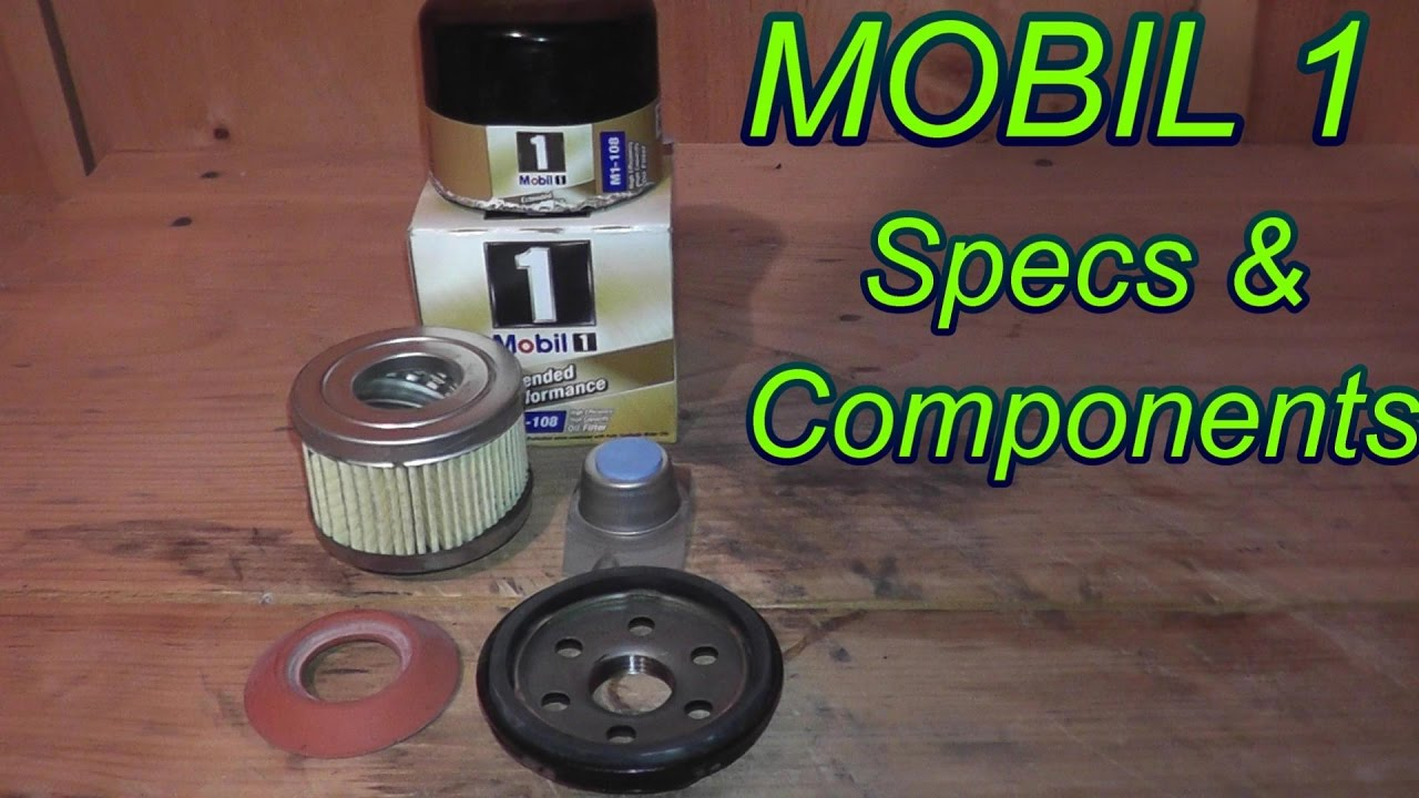 Mobil 1 Oil Filter >> Mobil 1 Oil Filter Review - YouTube