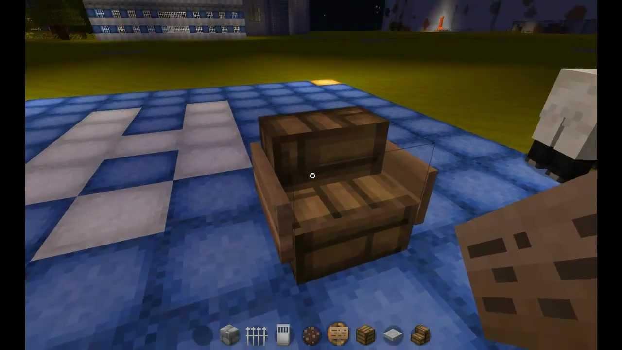 Art et Déco - Minecraft - Episode 1 - Décoration d'une chambre - YouTube