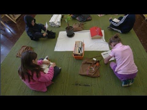 Inside A Montessori School