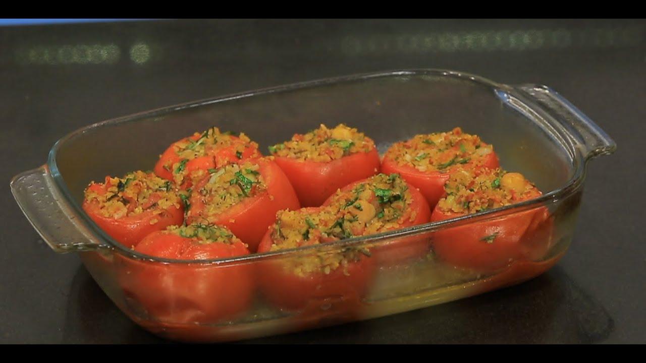 محشي الطماطم بالبرغل : ماجي حبيب