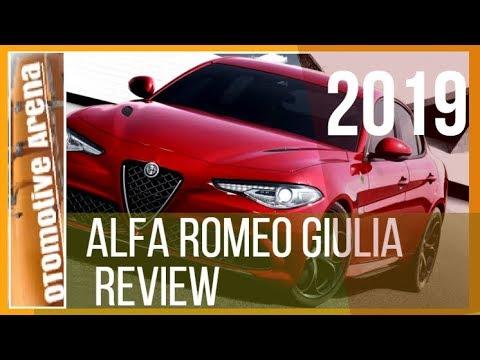 New Cars 2019 Alfa Romeo Giulia Review Ottomotive Arena Youtube