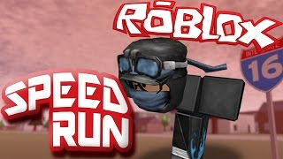 DISS TRACK? - ROBLOX SPEED RUN 4