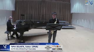 Xavier Tapia Zalaieta – Suite Hellenique by Pedro Iturralde