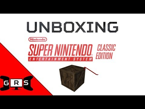SNES Classic Unboxing! - Gaming Respawn