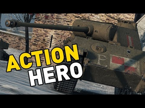 World of Tanks || ACTION HERO!