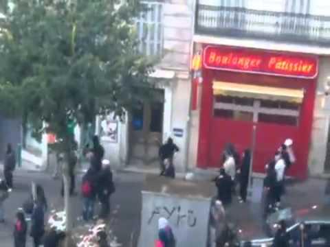 Football Hooligans Paris St Germain and Marseille