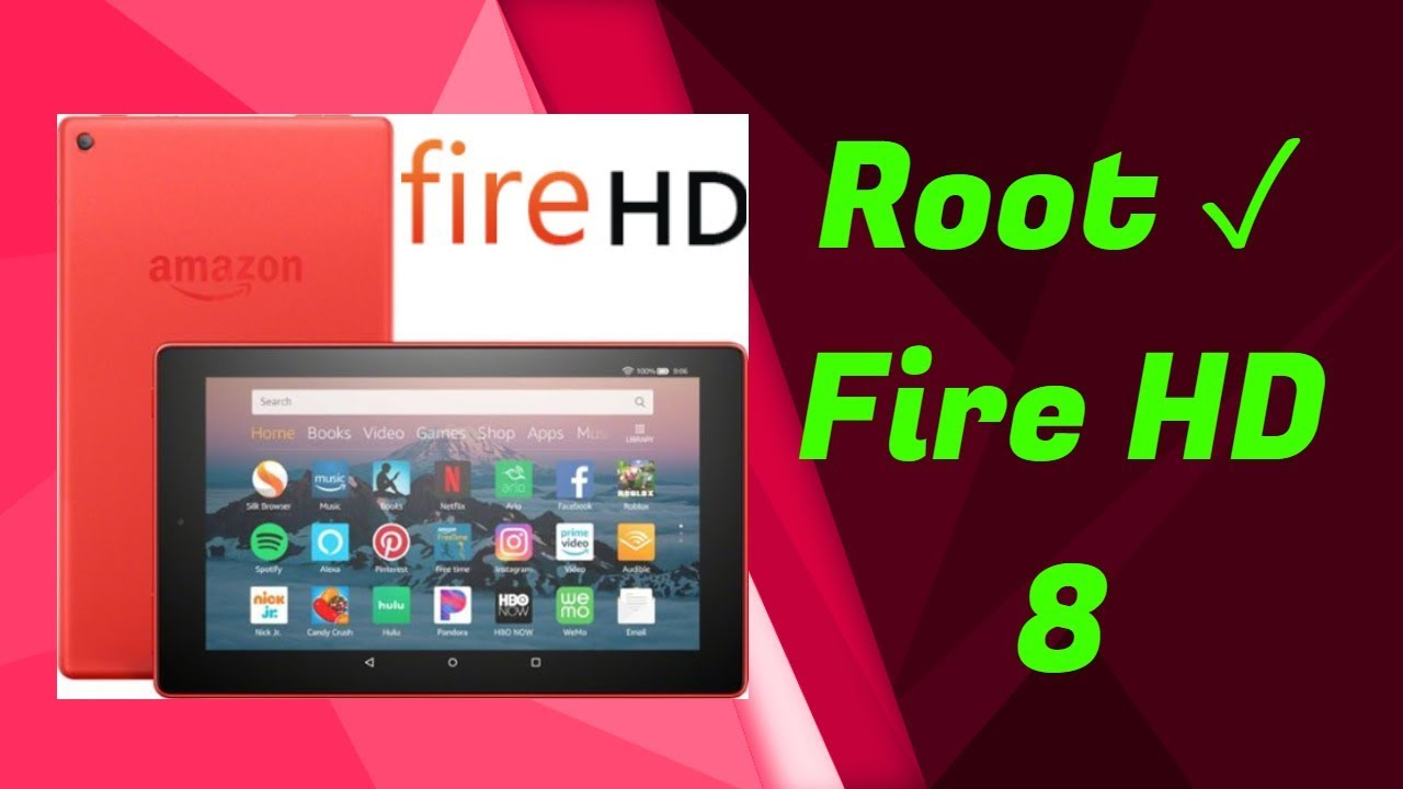 How to Root Fire HD 8! 😄