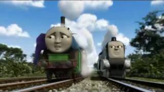 Hero Of The Rails: Spencer Chases Thomas And Hiro (With Alternate Music) thumbnail