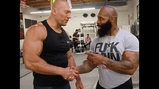 Техника (Денис Семенихин vs CT Fletcher)