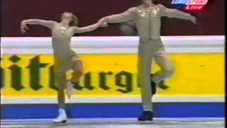 Elena Berezhnaya & Anton Sikharulidze RUS - 1998 European Championships SP