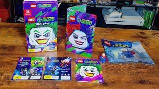 Unboxing: LEGO DC Super Villains- Deluxe Edition - Nintendo Switch