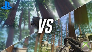 BLACK OPS 3 ON THE XBOX 360 vs. PS4!! (Next Gen/Old Gen)