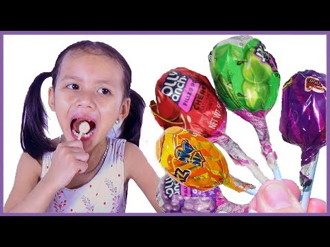 Thumbnail: Learn colors with Bad baby Tantrum and crying for lollipops, Little Babies learn colors with finger