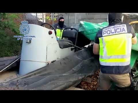 14 detenidos e incautadas seis toneladas de hachís en el Campo de Gibraltar