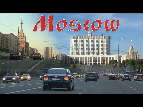 Moscow Russia 4K. Capital of Russia
