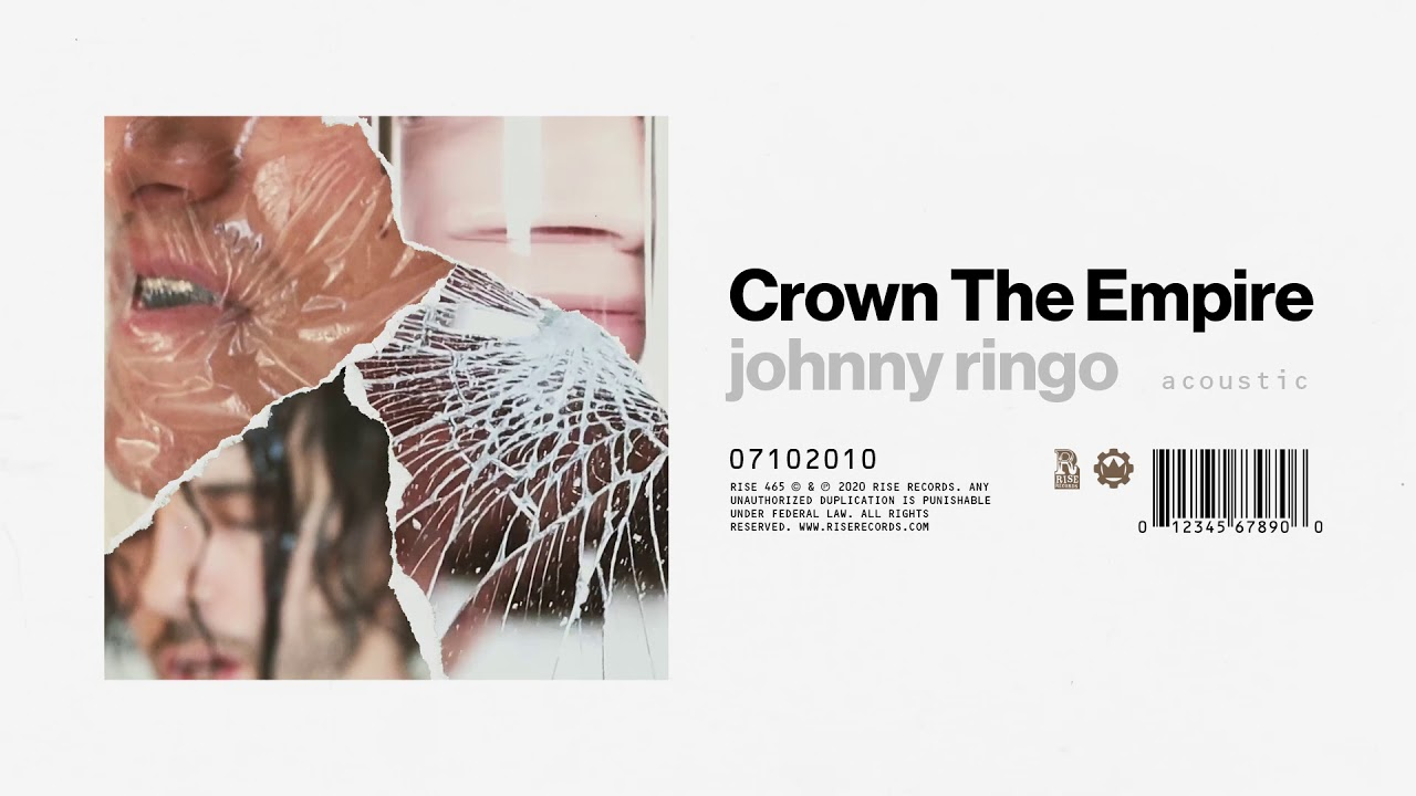 Crown The Empire Johnny Ringo Acoustic Youtube