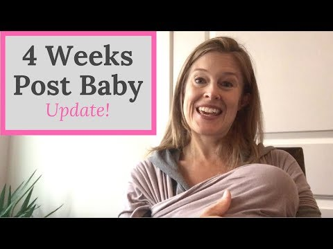Exercise After Pregnancy My Workout Update at 4 Weeks PostPartum