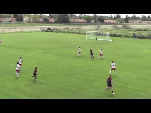 20170325 NCAA Womens Soccer - Fresno Pacific U Soccer v Antelope Valley - 1st Half