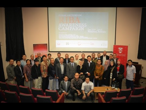 PUBLIC LECTURE ON RIBA AWARENESS