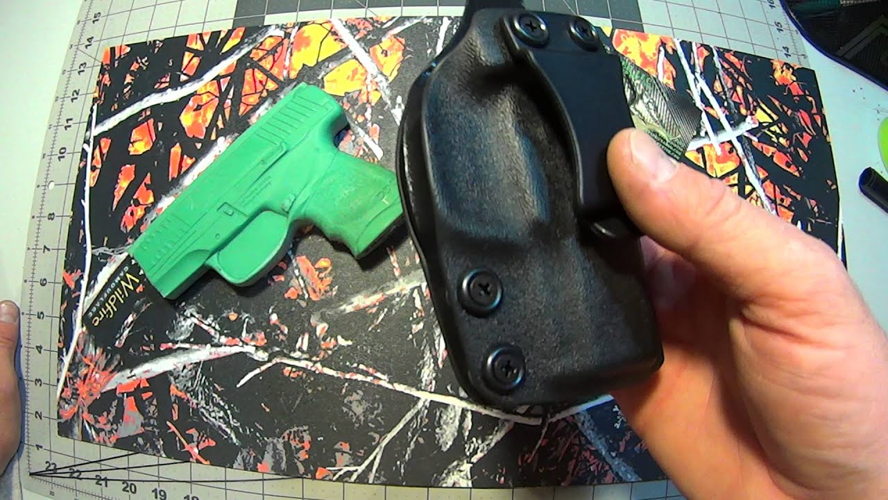 Walther PPS M2 Kydex holster IWB