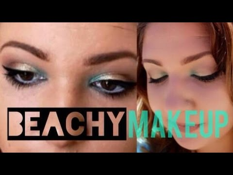 COLLAB  Beach Insipired Makeup With Allison Boyd
