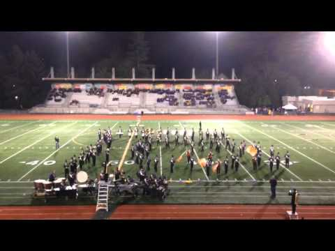 Wenatchee High School G.A. Marching Band Auburn 2014 (sped up 8X)