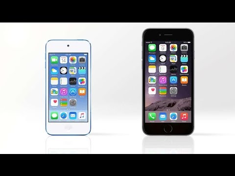 Apple iPod Touch 6th gen VS iPhone 6 - BEST TECH #23