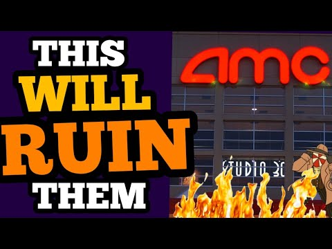 Theaters ARE DONE As HOLLYWOOD Lets AMC CRASH And BURN!