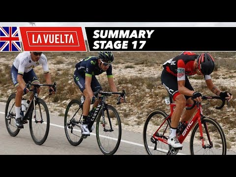 Summary - Stage 17 - La Vuelta 2017