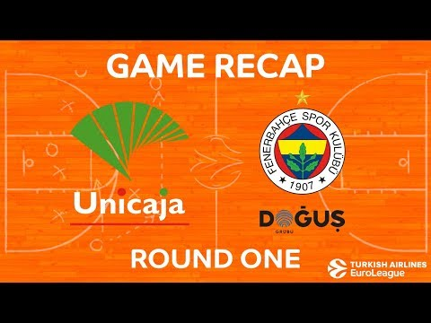 Highlights: Unicaja Malaga - Fenerbahce Dogus Istanbul