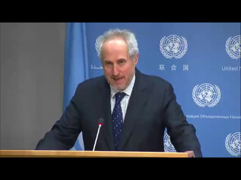 Peacekeepers killed and injured in recent attacks & other topics -Daily Press Briefing (9 May 2017)