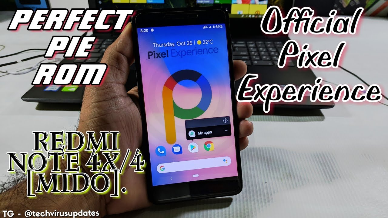 Official Pixel Experience pie ROM for Redmi Note 4 (Mido) complete Review |  All fixed | perfect rom