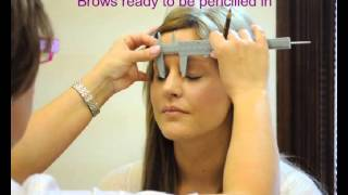 hd eye brows hair by hair permanent makeup tutorial natural look before and after